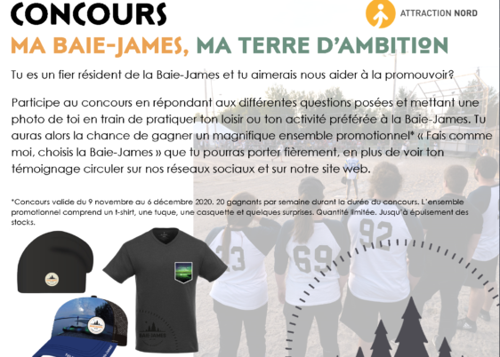 Baie James - Concours